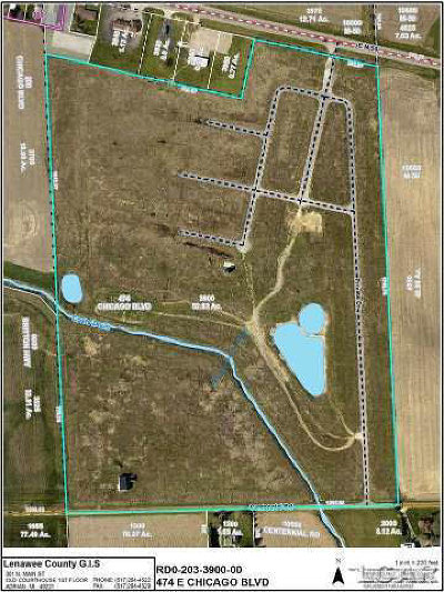 Britton MI Residential Lots & Land For Sale: $490,000