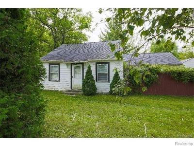 Belleville Single Family Home For Sale: 50841 Michigan Ave