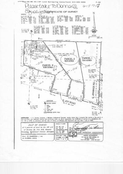 Dexter MI Residential Lots & Land For Sale: $149,900
