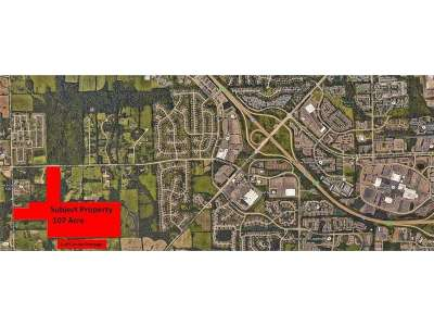Jackson County, Lenawee County, Hillsdale County, Washtenaw County Residential Lots & Land For Sale: 3263 Waters Rd