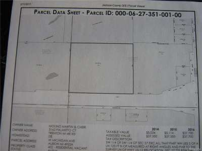 Albion MI Residential Lots & Land For Sale: $119,000