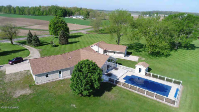 Hillsdale County Single Family Home For Sale: 3370 Gay Rd