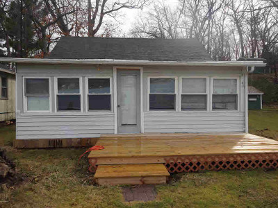 Reading MI Single Family Home For Sale: $87,500