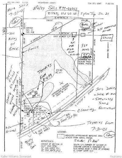 Chelsea MI Residential Lots & Land For Sale: $129,000