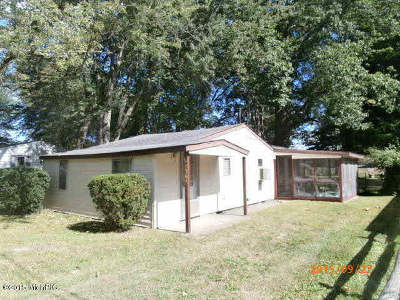 Reading MI Single Family Home For Sale: $75,000
