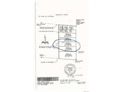 Munith MI Residential Lots & Land For Sale: $54,900