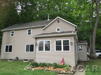 Brooklyn MI Single Family Home For Sale: $169,900