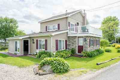 Jackson County, Hillsdale County, Lenawee County, Washtenaw County Single Family Home For Sale: 2855 Round Lake Hwy