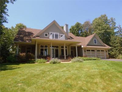 Pinckney MI Single Family Home For Sale: $599,900