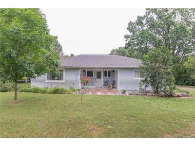 Washtenaw County Single Family Home For Sale: 8900 N Dixboro Rd