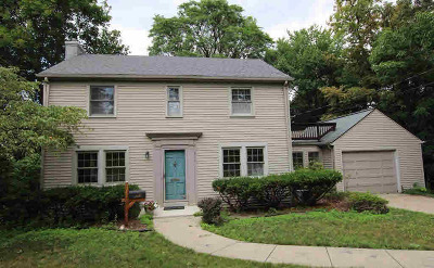 Washtenaw County Single Family Home Contingent - Financing: 2115 Frieze Ave