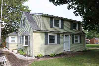 Brooklyn MI Single Family Home For Sale: $144,900