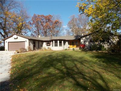 Ypsilanti MI Single Family Home For Sale: $579,900