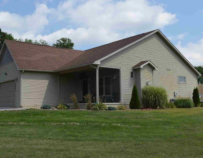 Single Family Home For Sale: 3247 S Portage Rd