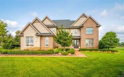 Plymouth MI Single Family Home For Sale: $594,500