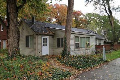Whitmore Lake MI Single Family Home For Sale: $142,900
