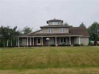 Single Family Home For Sale: 8474 Van Horne Estates