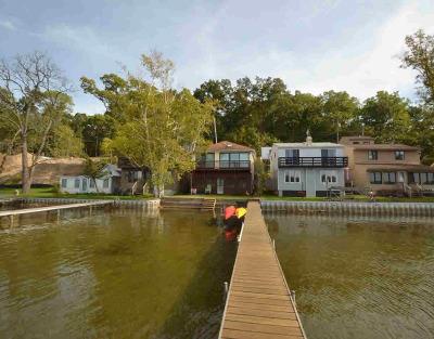 Washtenaw County Single Family Home For Sale: 7375 Webbs Shore Dr