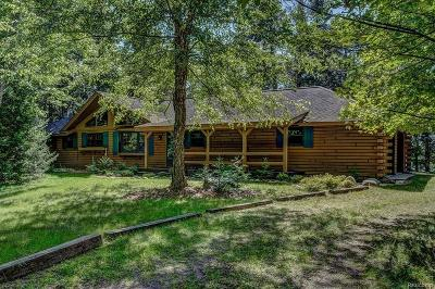 Single Family Home For Sale: 3077 N Poor Lake Rd
