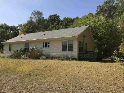 Hillsdale County Single Family Home For Sale: 10980 Milnes Rd