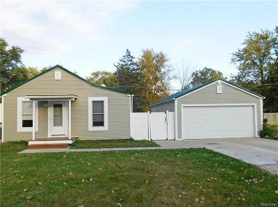 Whitmore Lake MI Single Family Home For Sale: $132,000