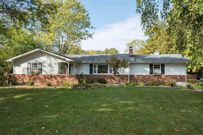 Washtenaw County Single Family Home For Sale: 5509 Hellner Rd