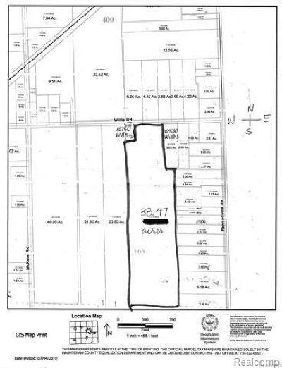 Willis MI Residential Lots & Land For Sale: $275,000