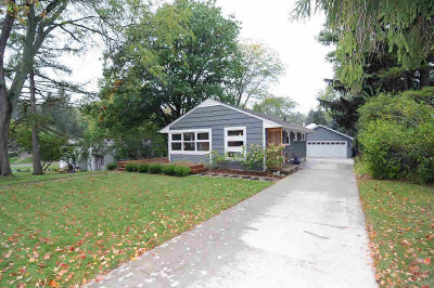 Washtenaw County Single Family Home Contingent - Financing: 1217 Pomona Rd