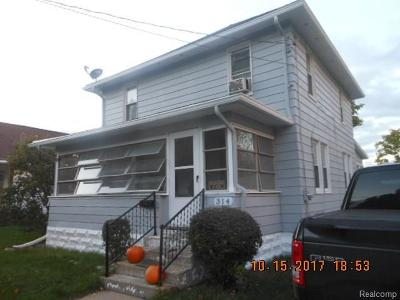 Jackson MI Single Family Home For Sale: $69,900