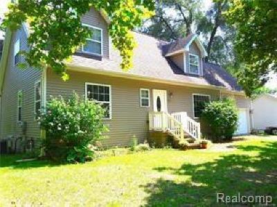 Whitmore Lake MI Single Family Home For Sale: $179,900