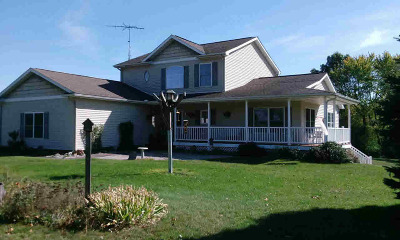 Hillsdale MI Single Family Home For Sale: $339,900
