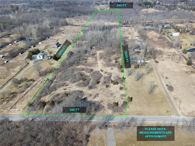 Northville MI Residential Lots & Land For Sale: $170,000