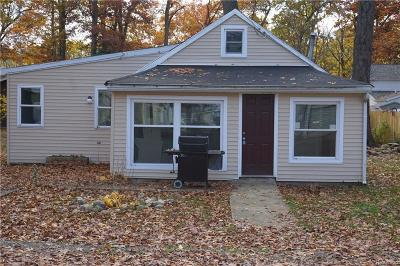 Brooklyn MI Single Family Home For Sale: $80,000