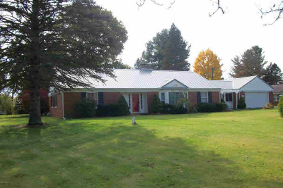 Hillsdale County Single Family Home For Sale: 5193 Monroe St