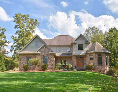 Washtenaw County Single Family Home Contingent - Financing: 3760 Crystal Ct
