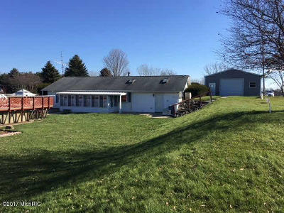 Jackson County, Hillsdale County, Lenawee County, Washtenaw County Single Family Home For Sale: 14940 Easy St