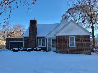 Washtenaw County Single Family Home For Sale: 1478 Marlborough Dr