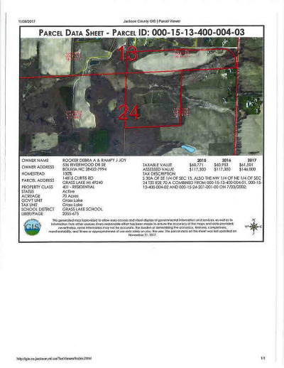 Grass Lake MI Residential Lots & Land For Sale: $279,900