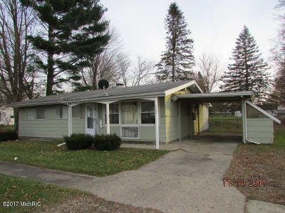 Hillsdale County Single Family Home For Sale: 302 Strait Ct