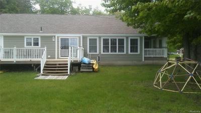 Single Family Home For Sale: 1366 Beach Komer Pnt