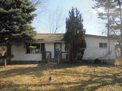 Single Family Home For Sale: 1093 Hull Rd