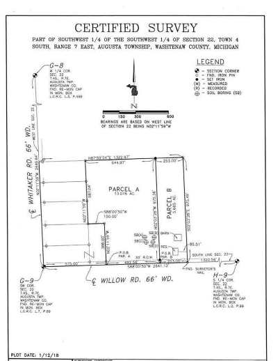 Milan MI Residential Lots & Land For Sale: $89,900