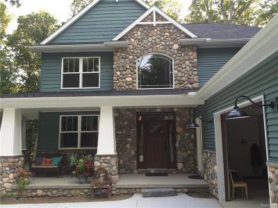 Dexter Single Family Home For Sale: 9674 Huron Creek Dr