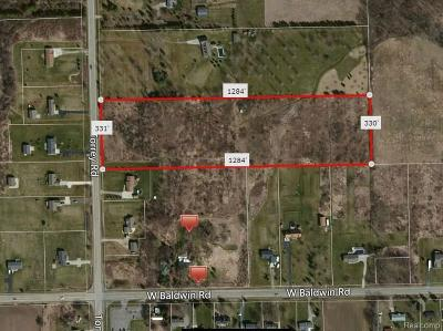 Residential Lots & Land For Sale: 9457 Torrey Rd