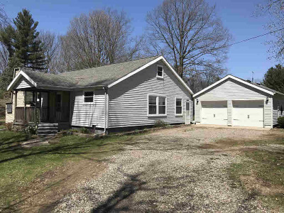 Reading MI Single Family Home For Sale: $149,900