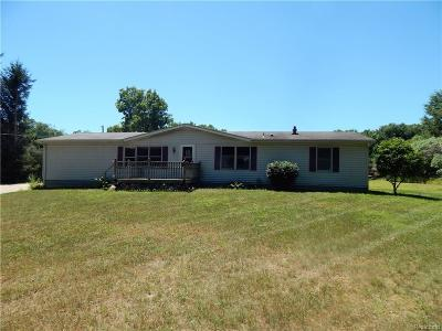 Leslie Single Family Home For Sale: 2938 S Williams Rd