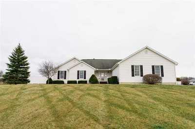 Adrian MI Single Family Home For Sale: $325,000