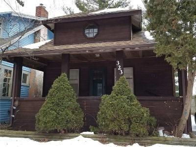 Lansing Single Family Home For Sale: 323 N Clemens Ave