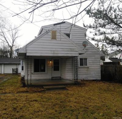 Single Family Home For Sale: 1064 Cherry St