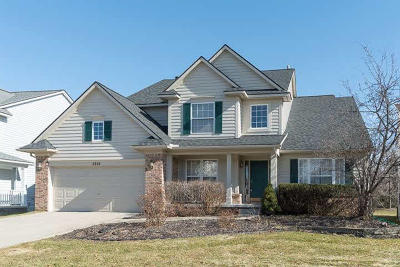 Washtenaw County Single Family Home Contingent - Financing: 4988 S Ridgeside Cir